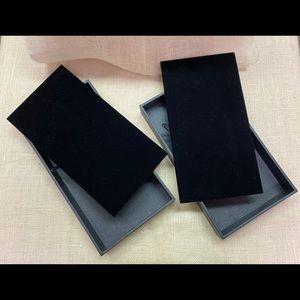 Jewelry - Black Velvet Jewelry Display Trays